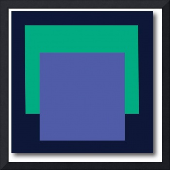 SQUARE FORMAT black green blue