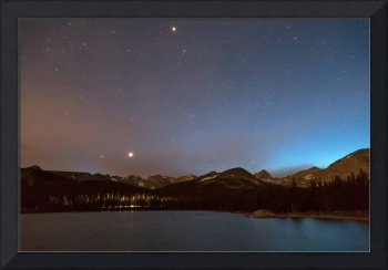 Colorado Brainard Lake Galaxy Night