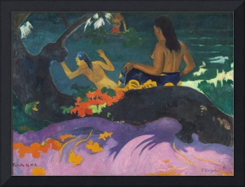 By the Sea by Paul Gauguin
