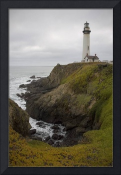 Pigeon Point Lighthouse - ocean seascape