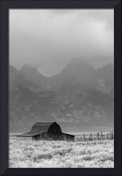 Grand Teton National Park Barn and Storm