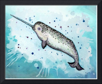A Happy Narwhal