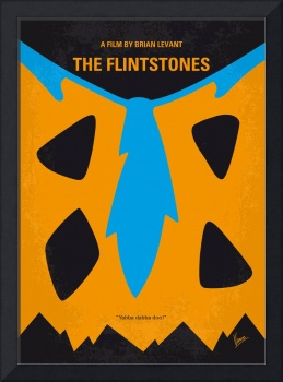 No669 My The Flintstones minimal movie poster