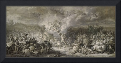 Jacques-Louis David~The Combat of Diomedes,1776