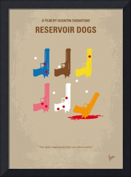 No069 My Reservoir Dogs minimal movie poster