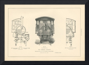 Fig.45-47 - Fast Passenger Locomotive Engraving