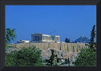Athenian Acropolis from Philopappou Hill, 2003