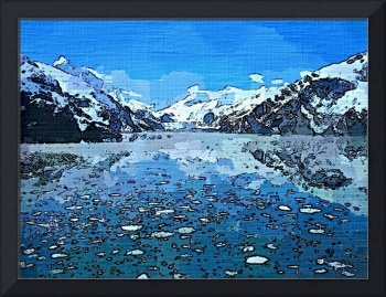 Alaska Lake Landscape Art