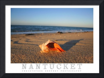 Nantucket Island Sunset Poster