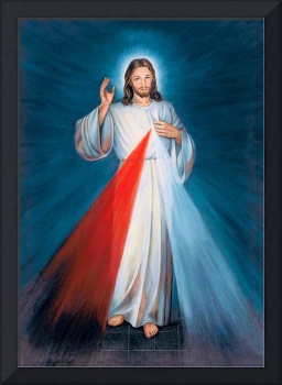 Jesus Christ Divine Mercy Catholic Picture Art
