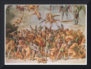 The Damned Cast into Hell by Luca Signorelli