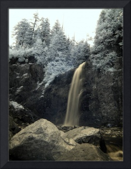 Franklin Falls - Infrared 2