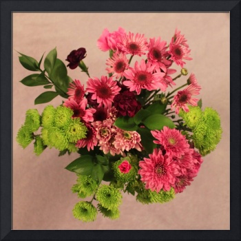 Pinks and Green