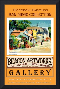 Riccoboni Paintings San Diego Collection Poster