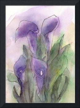 Purple Calla Quartet