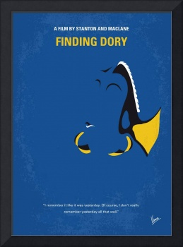 No717 My Finding Dory minimal movie poster