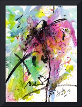 Intuitive Abstract Series Number 01 by Ginette