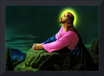 Jesus Christ Praying Jesus Picture Catholic Art