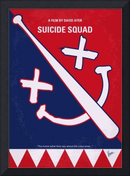 No680 My Suicide Squad minimal movie poster