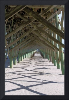 Under Folly Beach Pier