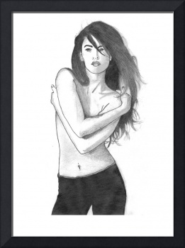 Megan Fox Sketch