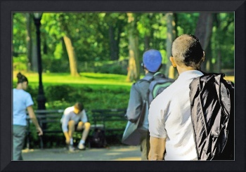 A Central Park Moment, NYC