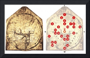 Hereford Mappa Mundi 1300 Explained