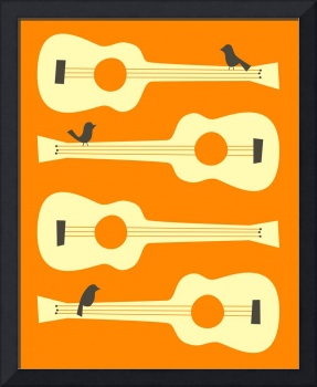 BIRDS ON GUITAR STRINGS 5