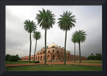 Building With Palm Trees In Foreground New Delhi,