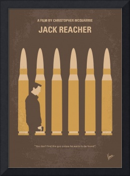 No1176 My Jack Reacher minimal movie poster