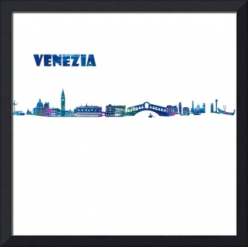 Venice Skyline in Clean Scissor Cut