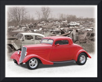 1933 Ford Visits Those Left Behind
