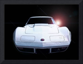 The Great White 70s Vette