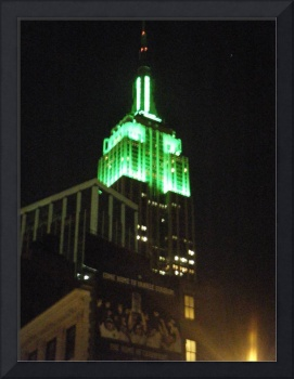 Empire State Building Go-Green
