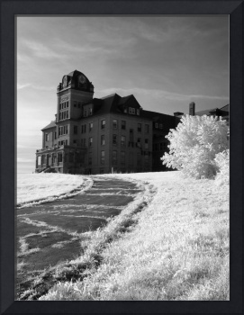 The Old Odd Fellows Home Infrared BW
