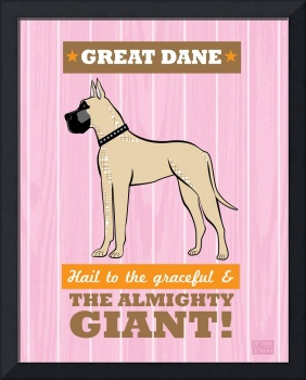Great Dane Pink/Orange