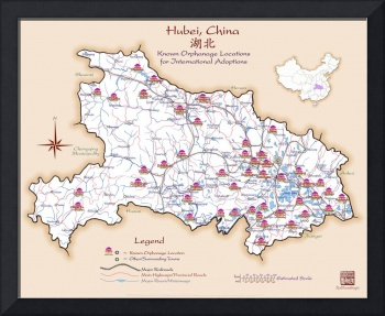 Hubei China Orphanage Location Map v1.1