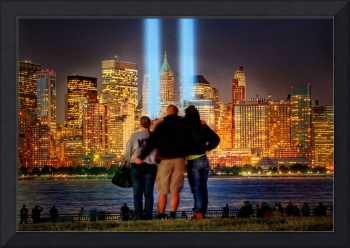 9-11 Tribute in Light 2012
