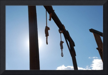Hanging from the Gallows