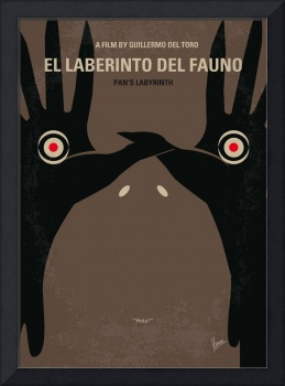 No061 My Pans Labyrinth minimal movie poster