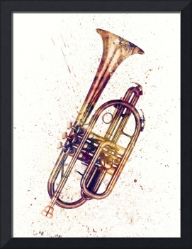 Cornet Abstract Watercolor