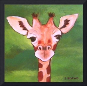 giraffe - baby animals - george