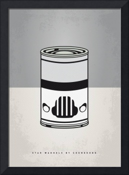 MY STAR WARHOLS STORMTROOPER MINIMAL CAN POSTER