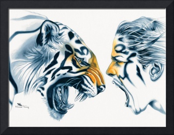 Tiger Totem by Michelle Tracey Fantasy Art