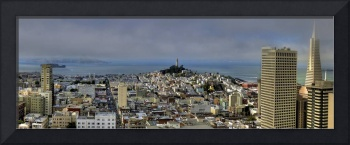 San Francisco Panorama view from Union Square