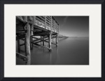 Gulf Fishing Pier, Fulton, Texas I by Dave Wilson