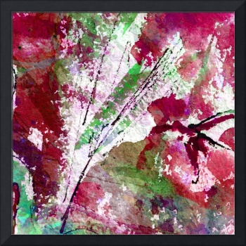 Intuitive Abstract Red