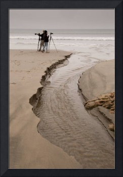 Photographers on Beach, Point Reyes