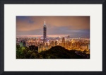 Taipei from Elephant Mountain by Dave Wilson