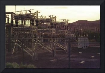 Near Buehl, Idaho, USBR Substation